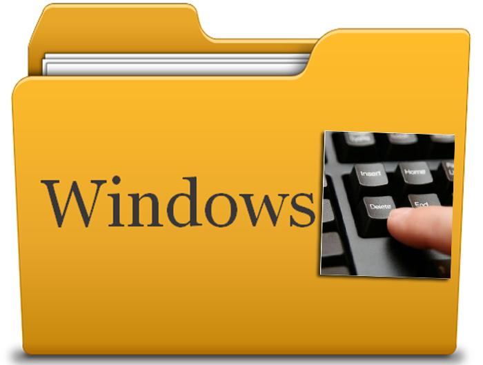 Что можно удалить из папки Windows