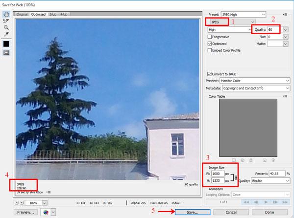 Как изменить размер фото в Фотошопе