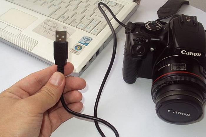 Как подключить фотоаппарат к компьютеру