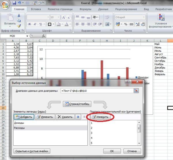Как построить график и диаграмму в Excel?