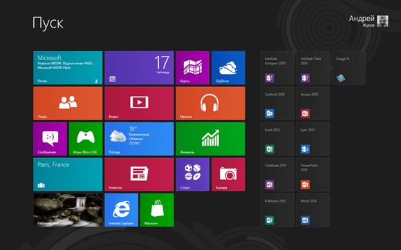 Как пропустить стартовый экран Windows 8 и сразу перейти на рабочий стол при запуске системы