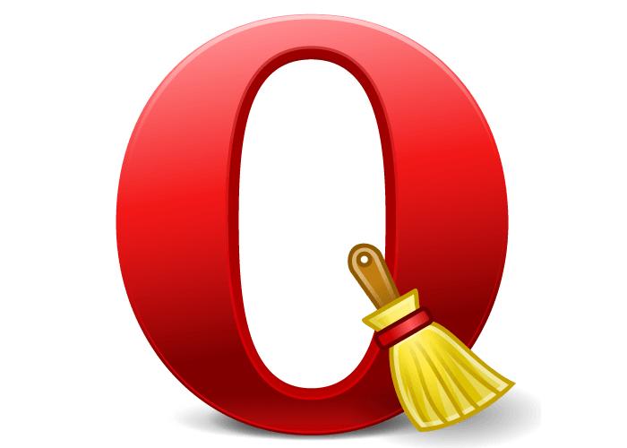 Как удалить куки в Опере