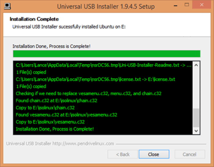 Как установить Линукс на флешку
