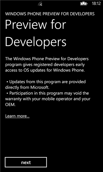 Как установить предрелизную версию Windows Phone 8 Update 3