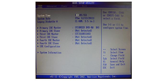 Как в Биосе поставить загрузку с диска