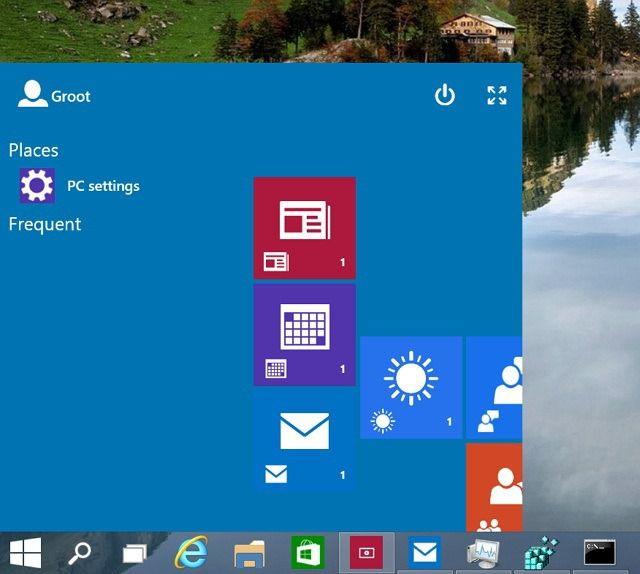 Как включить раннюю версию Continuum в Windows 10 build 9879