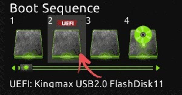 Как загрузить компьютер с флешки