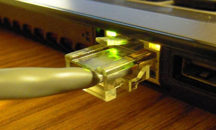 Компьютер не видит интернет кабель