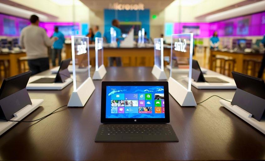 Microsoft: планшеты это просто другой тип компьютеров