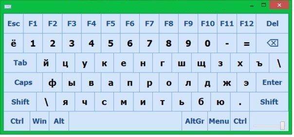 Основные способы выведения клавиатуры на экран