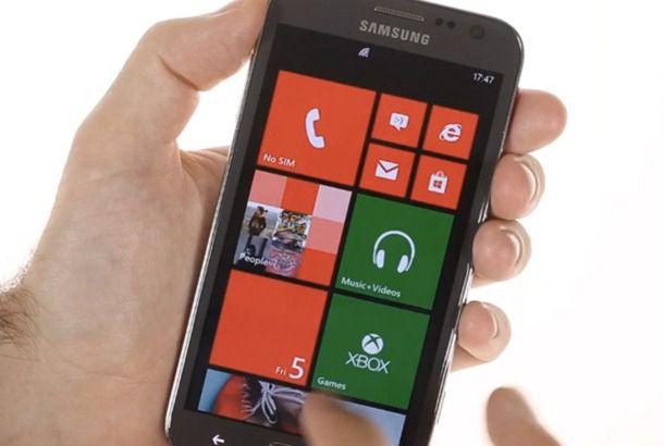 Samsung ATIV S появился на видео