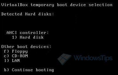 Создание виртуальных машин EFI в программе VirtualBox
