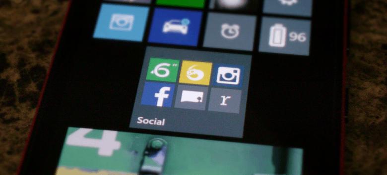 Создавайте папки для приложений и настроек через App Folder для смартфонов Nokia Lumia с Windows Phone 8