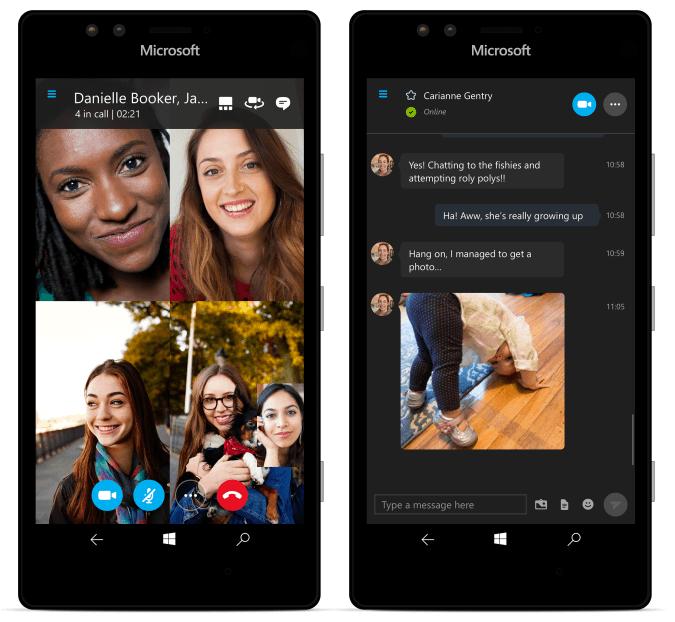 Универсальное приложение Skype для Windows 10 Mobile теперь доступно инсайдерам