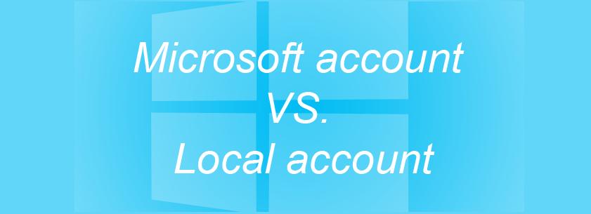 В чем разница между учетной записью Microsoft и локальной учетной записью в Windows 8