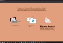 В последней сборке Windows 10 Creators Update обнаружены первые следы Windows Defender Application Guard