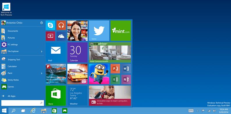 Windows 10 Technical Preview собирает всю информацию о пользователе и его деятельности