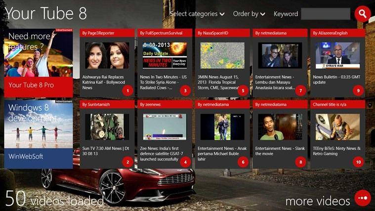 5 лучших приложений YouTube для Windows 8 и Windows RT