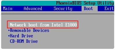 AOMEI PXE Boot: Загрузка компьютеров по сети из файла образа диска