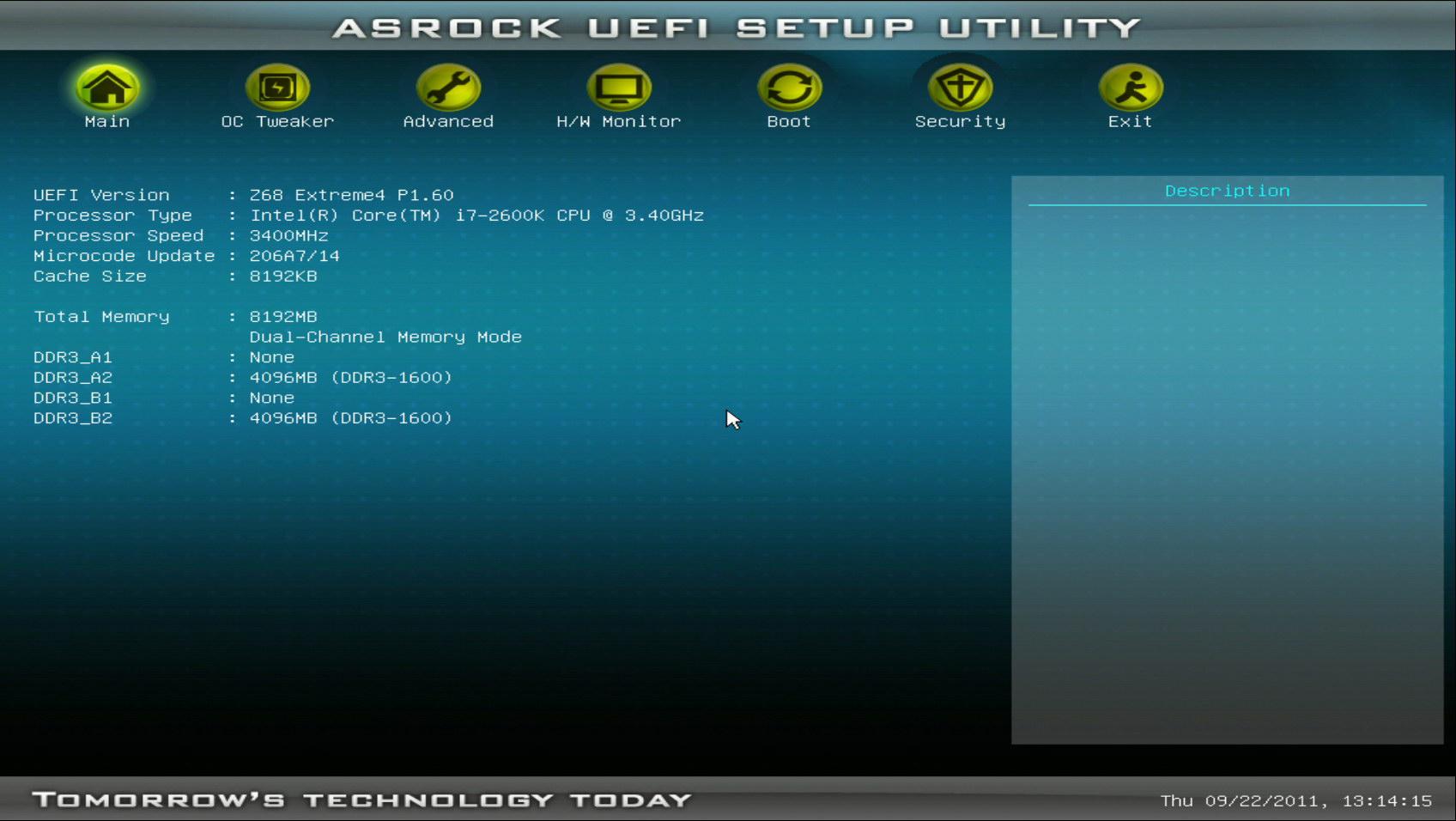 ASRock UEFI SETUP UTILITY BIOS настройка