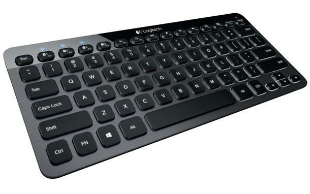 Bluetooth-клавиатура Logitech K810 может работать с 3 устройствами