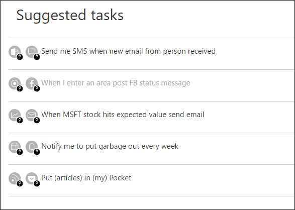 CAP – новый проект Microsoft, аналог сервиса для автоматизации обмена данными IFTTT
