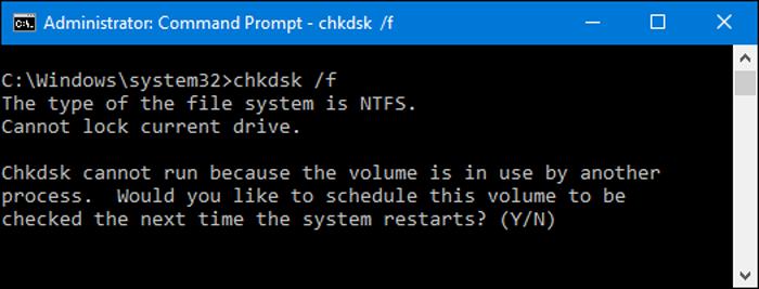Chkdsk, как запустить?