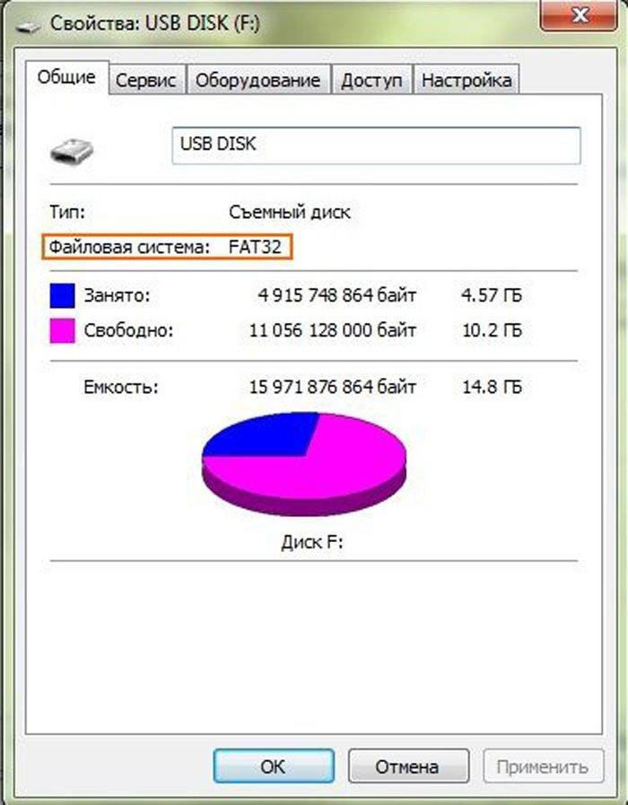 Файл слишком велик для конечной файловой системы