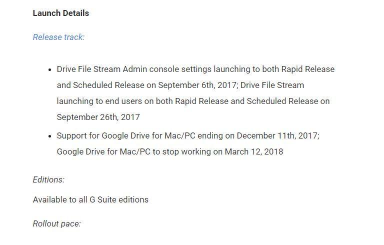 Google завершает поддержку своего «Диска» для Windows и macOS