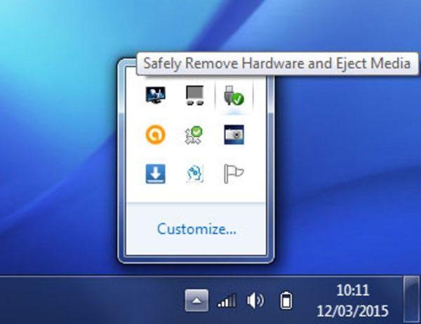 Как безопасно извлечь флешку из компьютера
