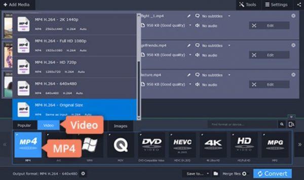 Как переформатировать видео