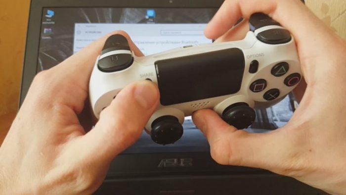 Как подключить Dualshock 4 к ПК