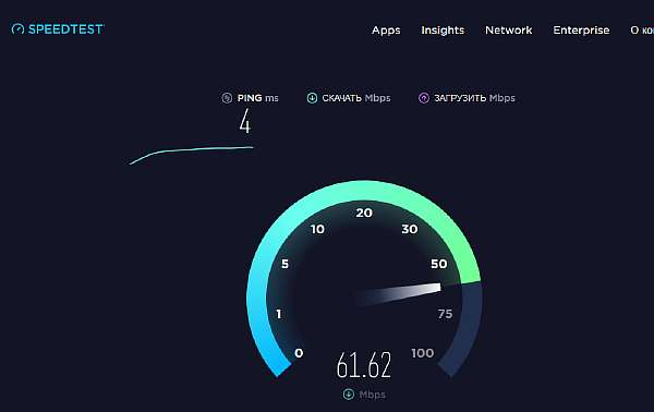 Как проверить скорость Интернет соединения на компьютере