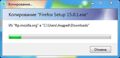 Как скачать Firefox на свежеустановленную систему без использования Internet Explorer