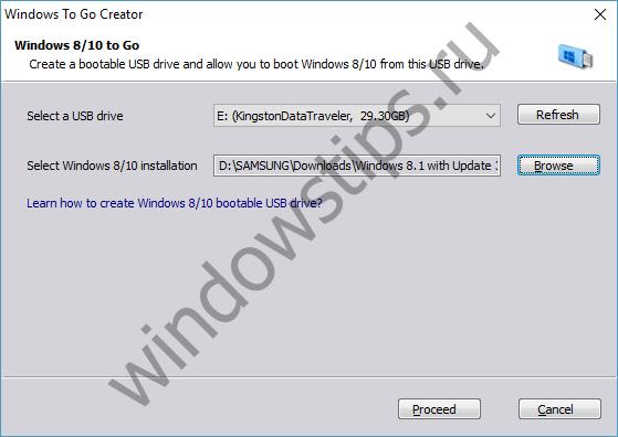 Как создать флэшку Windows To Go за несколько простых шагов