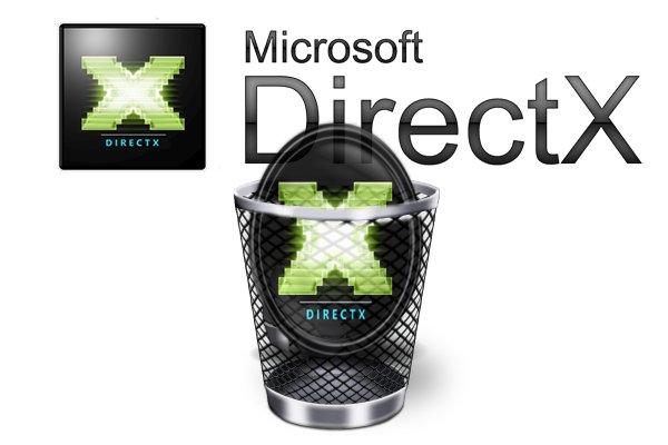Как удалить Директ Икс