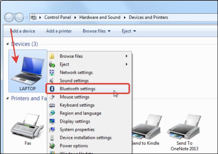 Как включить Bluetooth на ноутбуке
