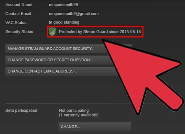 Как включить в стиме steam guard