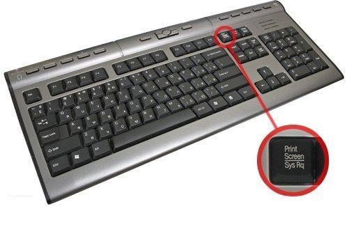 Как заскринить экран компьютера