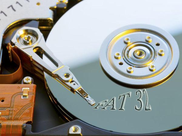 Как жесткий диск отформатировать в fat32