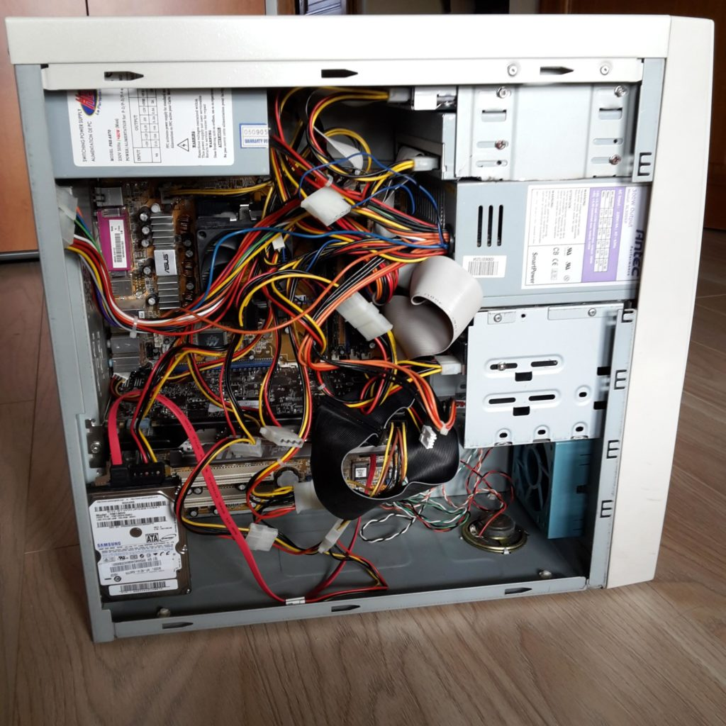 Компьютер включается и сразу выключается