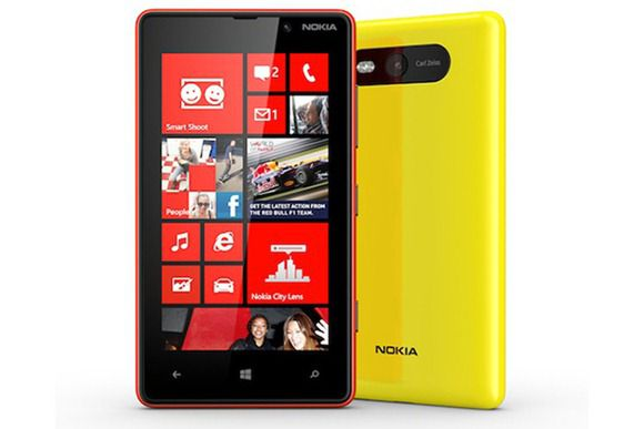 Lumia 820 – двухъядерный процессор, 8 Мп камера и Windows Phone 8