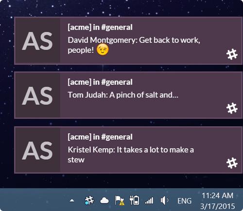 Официальное приложение Slack для Windows
