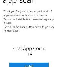 Reinstaller для Windows Phone: восстанавливаем потерянные приложения
