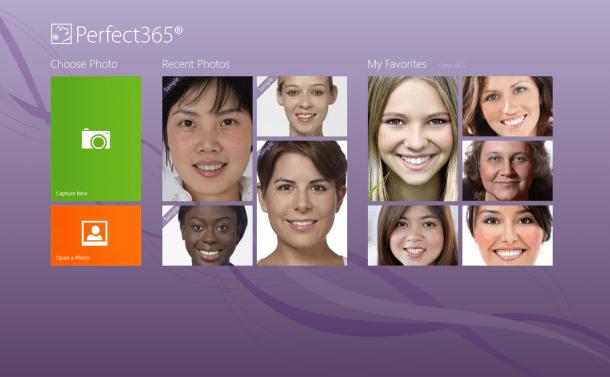 Ретушируйте и улучшайте ваши фотографии с помощью Perfect365 для Windows 8