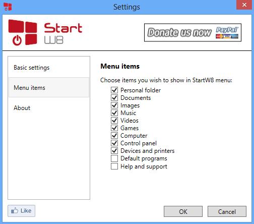 StartW8 – простая и элегантная замена начальному экрану в Windows 8