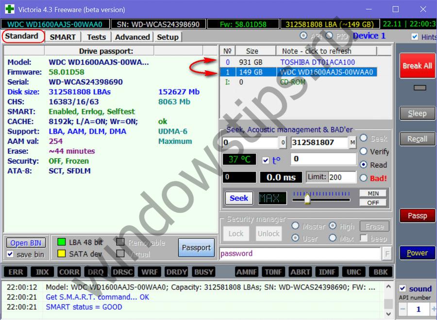 Технология S.M.A.R.T. жестких дисков и анализ ее показателей