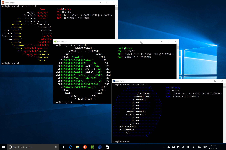 В Магазине Windows появится iTunes, а также дистрибутивы Ubuntu, openSUSE и Fedora