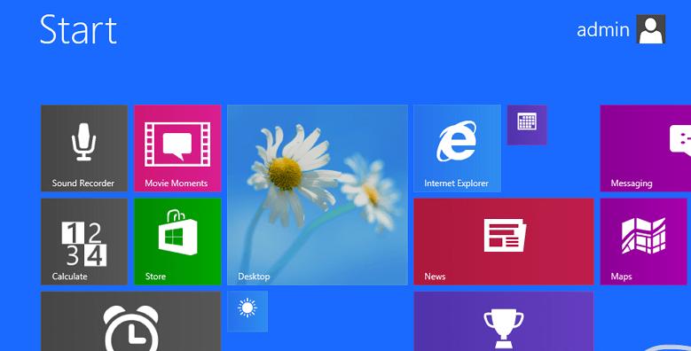Windows Blue добавляет синхронизацию настроек начального экрана
