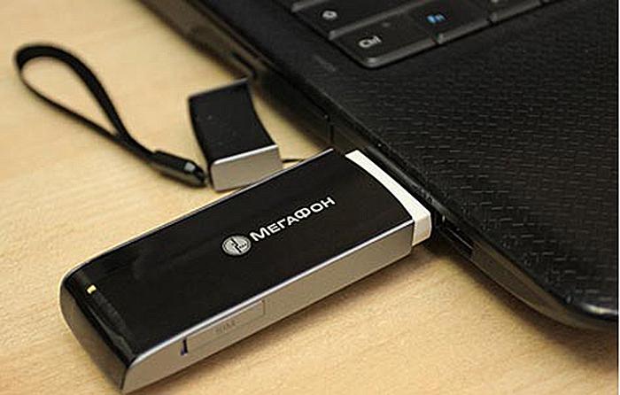 Как подключить модем Мегафон к ноутбуку